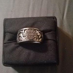 Harley Davidson Men's Ring